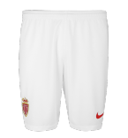 Monaco 2018-2019 Nike Home Shorts (White)