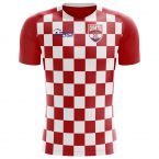 Croatia 2018-2019 Flag Concept Shirt - Adult Long Sleeve