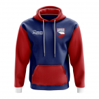 Czech Republic Concept Country Football Hoody (Navy)