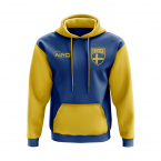 Sweden Concept Country Football Hoody (Blue)