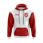 Switzerland Concept Country Football Hoody (Red)