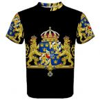 Sweden Coat of Arms Sublimated Sports Jersey (Kids)