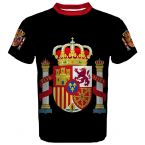 Spain Coat of Arms Sublimated Sports Jersey