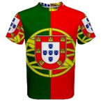 Portugal Coat of Arms Sublimated Sports Jersey