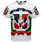 Dominican Republic Coat of Arms Sublimated Sports Jersey