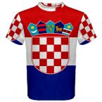 Croatia Flag Sublimated Sports Jersey