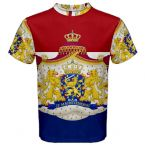 Netherlands Coat of Arms Sublimated Sports Jersey (Kids)