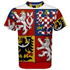 Czech Republic Coat of Arms Sublimated Sports Jersey