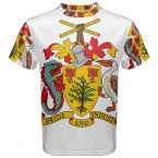 Barbados Coat of Arms Sublimated Sports Jersey