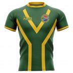 South Africa Springboks 2019-2020 Flag Concept Rugby Shirt