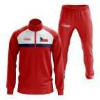 Czech Republic Concept Football Tracksuit (Red)