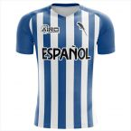 Espanyol 2019-2020 Home Concept Shirt - Adult Long Sleeve
