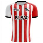 Athletic Bilbao 2019-2020 Home Concept Shirt - Adult Long Sleeve