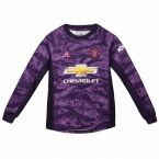 Man Utd 2019-2020 Home Goalkeeper Shirt (Kids)