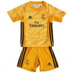 Real Madrid 2019-2020 Home Goalkeeper Mini Kit