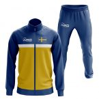 Sweden Concept Football Tracksuit (Blue)