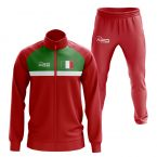 Italy Concept Football Tracksuit (Red)