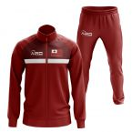 Tonga Concept Football Tracksuit (Red)