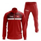 Tunisia Concept Football Tracksuit (Red)