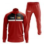 Uganda Concept Football Tracksuit (Red)