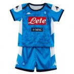 Napoli 2019-2020 Home Football Kit (Kids)