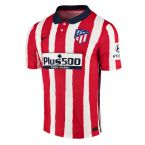 Atletico Madrid 2020-2021 Authentic Vapor Home Shirt