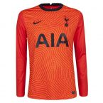 Tottenham 2020-2021 Goalkeeper Shirt (Orange)