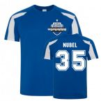 Alexander Nubel Schalke Sports Training Jersey (Blue)