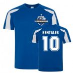 Nabil Bentaleb Schalke Sports Training Jersey (Blue)