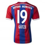 Bayern Munich 14-15 Home Shirt (Gotze 19) - Kids