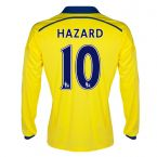 Chelsea 14-15 Long Sleeve Away Shirt (Hazard 10)