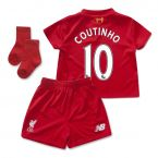 Liverpool 15-16 Home Mini Kit (Coutinho 10)