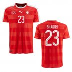 2016-2017 Switzerland Puma Home Shirt (Shaqiri 23)