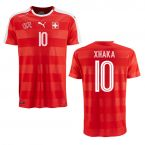 2016-2017 Switzerland Puma Home Shirt (Xhaka 10) - Kids