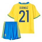 2016-2017 Sweden Home Mini Kit (Durmaz 21)