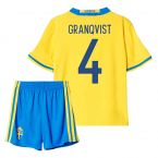 2016-2017 Sweden Home Mini Kit (Granqvist 4)