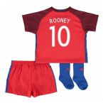 England 16-17 Away Baby Kit (Rooney 10)