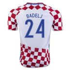Croatia 16-17 Home Shirt (Badelj 24)
