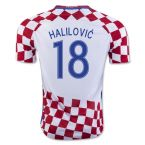 Croatia 16-17 Home Shirt (Halilovic 18)