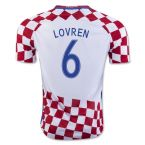 Croatia 16-17 Home Shirt (Lovren 6) - Kids