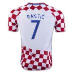 Croatia 16-17 Home Shirt (Rakitic 7)