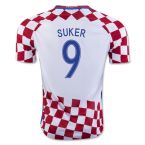Croatia 16-17 Home Shirt (Suker 9) - Kids