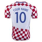 Croatia 16-17 Home Shirt (Your Name) -Kids