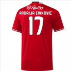 2016-17 Benfica Home Shirt (Andrija Zivkovic 17) - Kids
