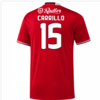2016-17 Benfica Home Shirt (Carrillo 15) - Kids