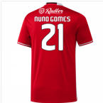 2016-17 Benfica Home Shirt (Nuno Gomes 21) - Kids