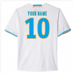 2016-17 Marseille Home Shirt (Your Name) -Kids