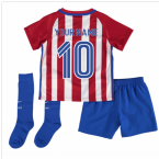2016-17 Atletico Madrid Home Baby Kit (Your Name)