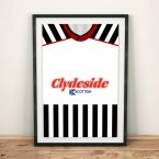 St Mirren 1987 Football Shirt Art Print