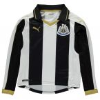 Newcastle 2016-2017 Home Long Sleeve Shirt (Kids)